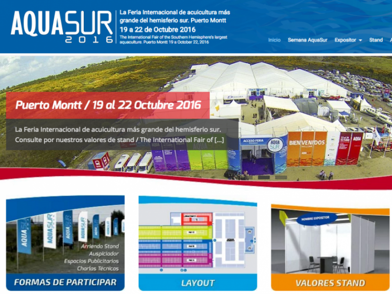AQUASUR 2016, visitenos Stand B120 - AST Technology Networks