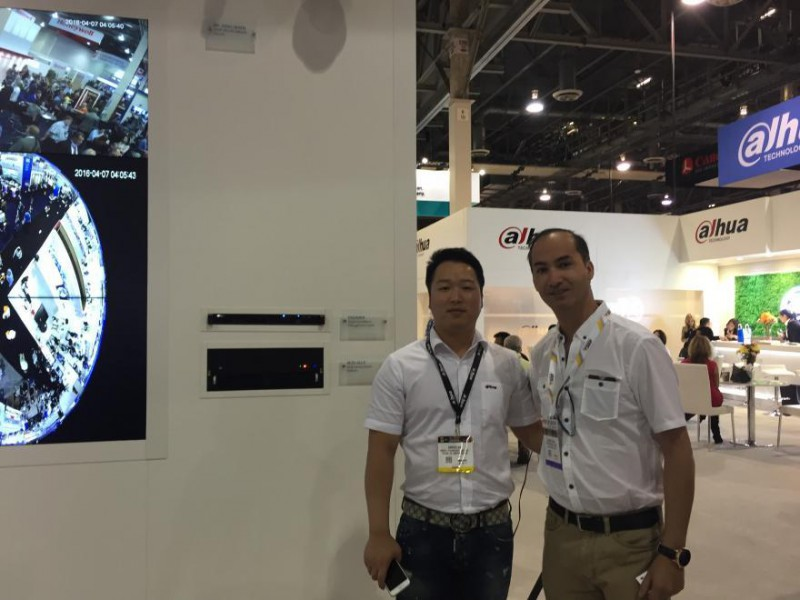 AST Visita Feria ISC WEST 2016, Las Vegas - AST Technology Networks